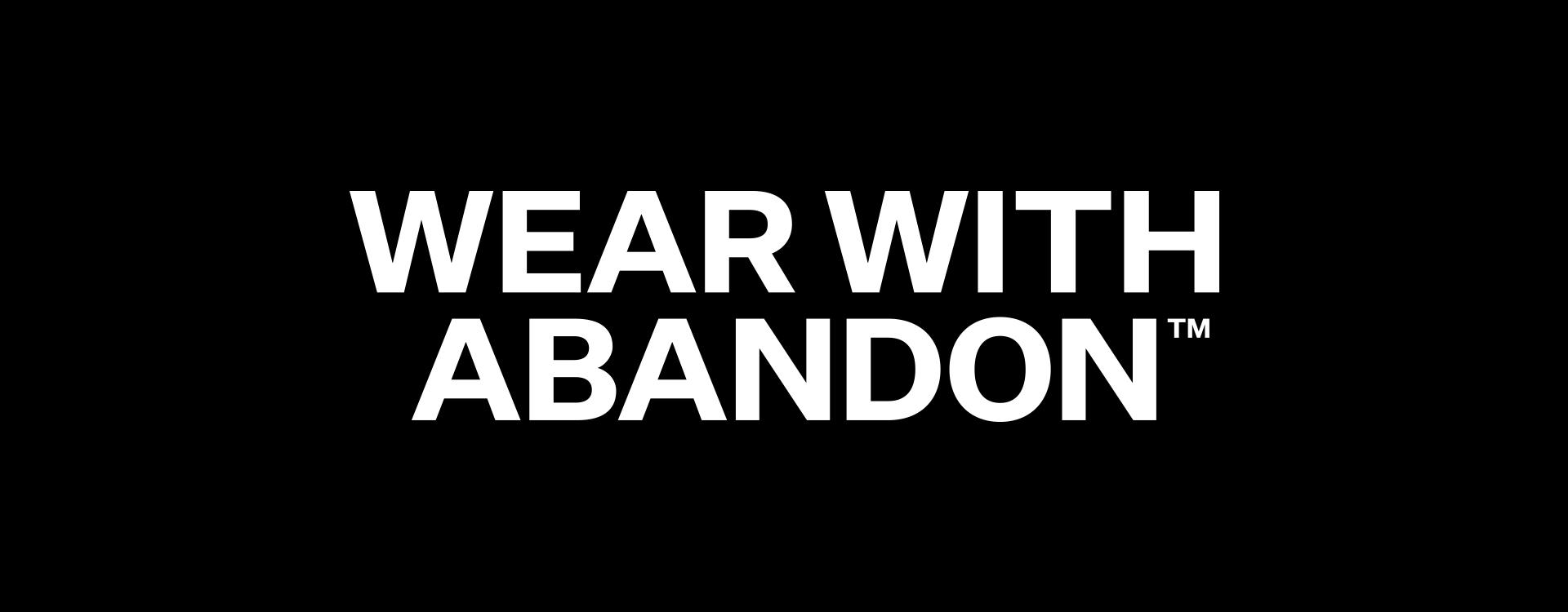Wrangler - Wear With Abandon